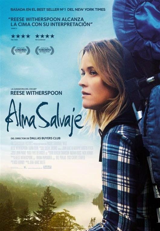 Póster y tráiler español de 'Alma salvaje' con Reese Whiterspoon