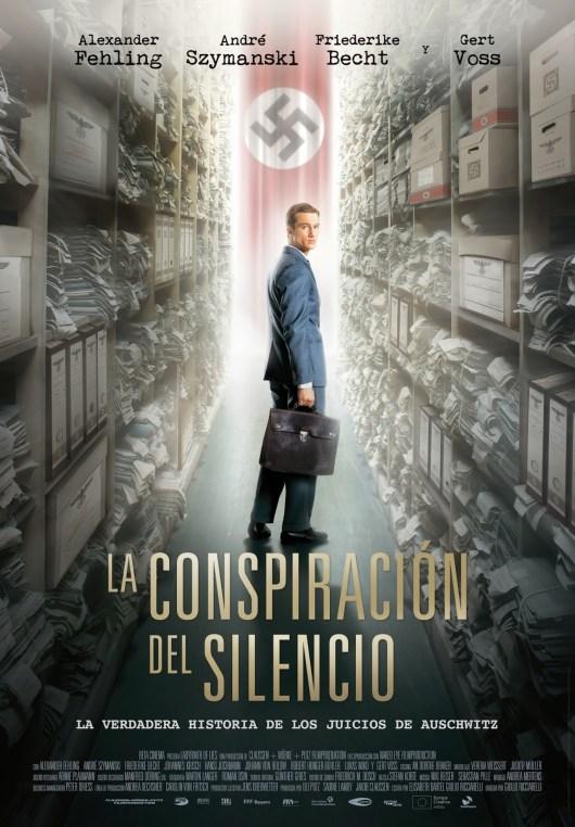 Póster y tráiler español de 'La conspiración del silencio'
