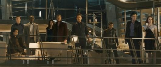 Nueva foto de familia de 'Vengadores: La Era de Ultrón'