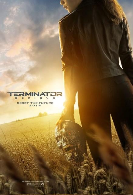 Nuevo póster, adelanto y primer tráiler de 'Terminator: Génesis'