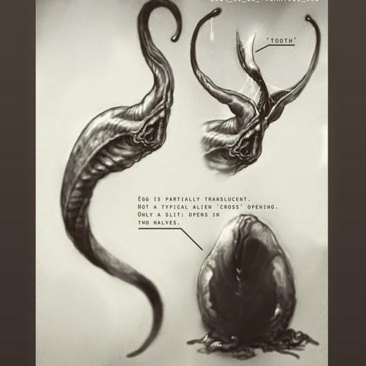Neill Blomkamp revela arte conceptual de una posible secuela de 'Alien'