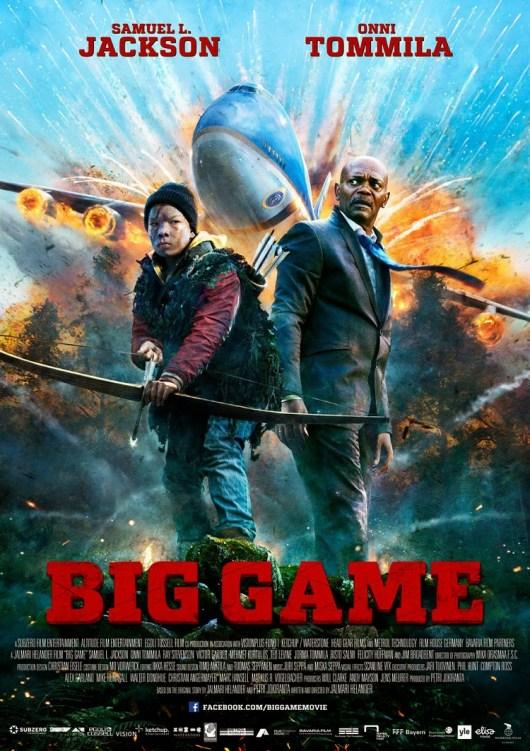 Póster y tráiler internacional de 'Big Game' con Samuel L. Jackson y Onni Tommila