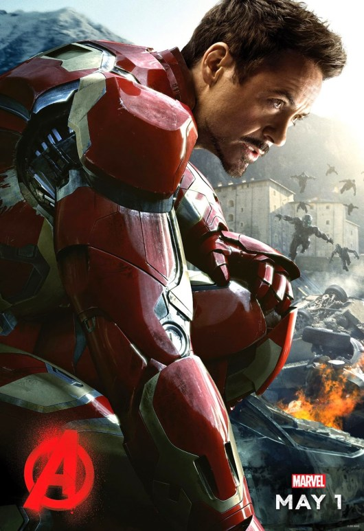 Primer póster individual de 'Vengadores: La era de Ultrón' protagonizado por Iron Man