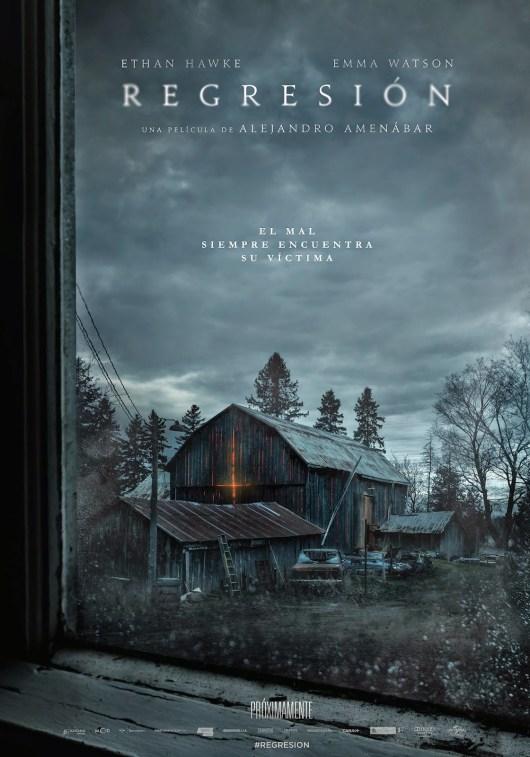 Primer tráiler y póster de 'Regresión' de Alejandro Amenabar con Ethan Hawke y Emma Watson