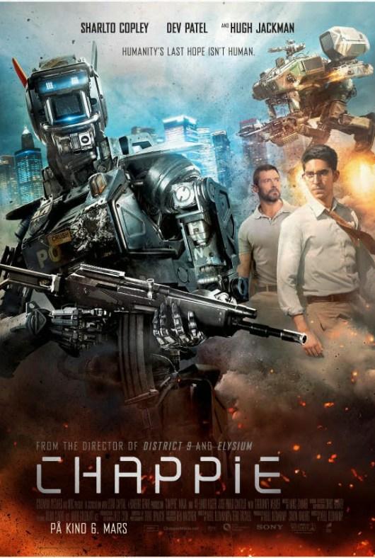 Dos nuevos pósters de 'Chappie', que se podrá ver en IMAX