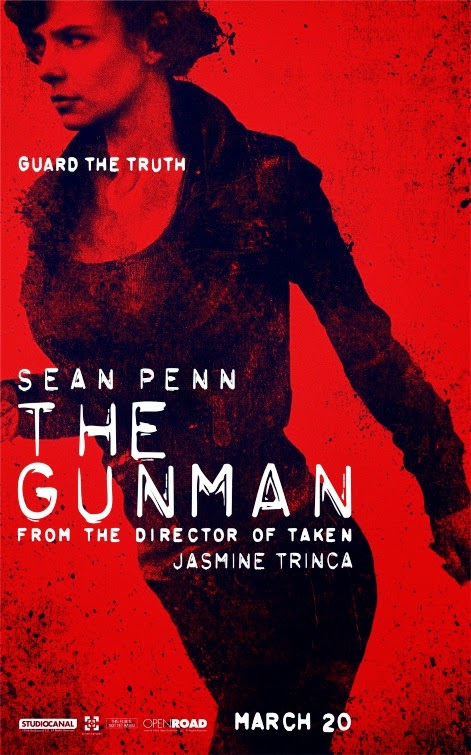 Nuevos pósters de 'The Gunman' con Sean Penn como héroe de acción