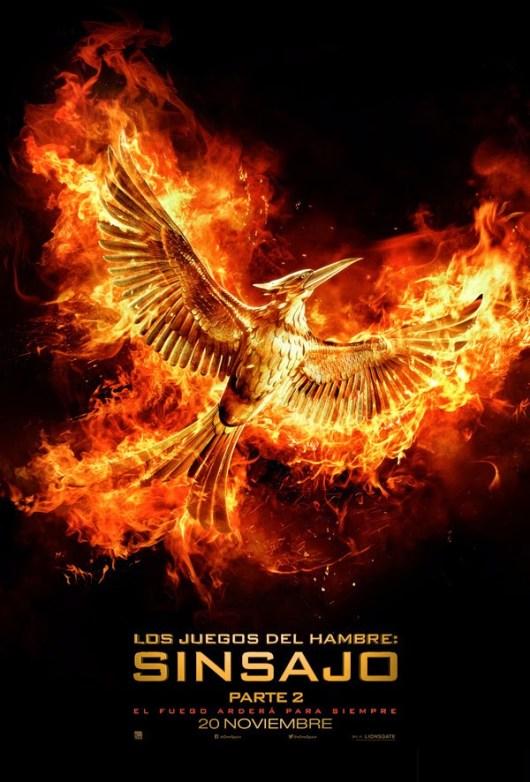 Revelado el logo y el teaser poster de 'Los Juegos del Hambre: Sinsajo - Parte 2'