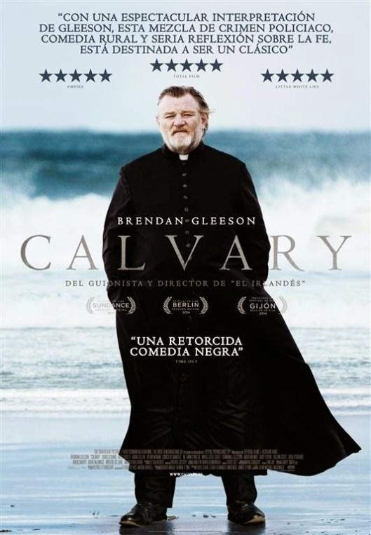 Póster y tráiler de 'Calvary', de John Michael McDonagh con Brendan Gleeson