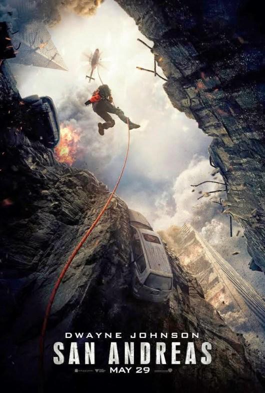 Nuevo póster de la película de catástrofes 'San Andrés'