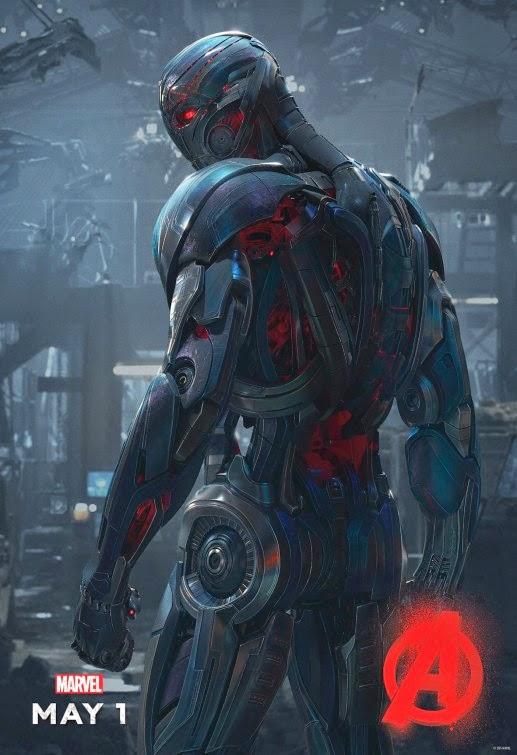 Ultrón ya tiene su propio póster de 'Vengadores: La era de Ultrón'