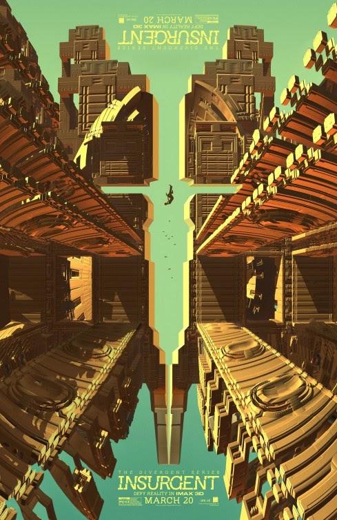 Póster IMAX y remesa de individuales de 'La serie Divergente: Insurgente'