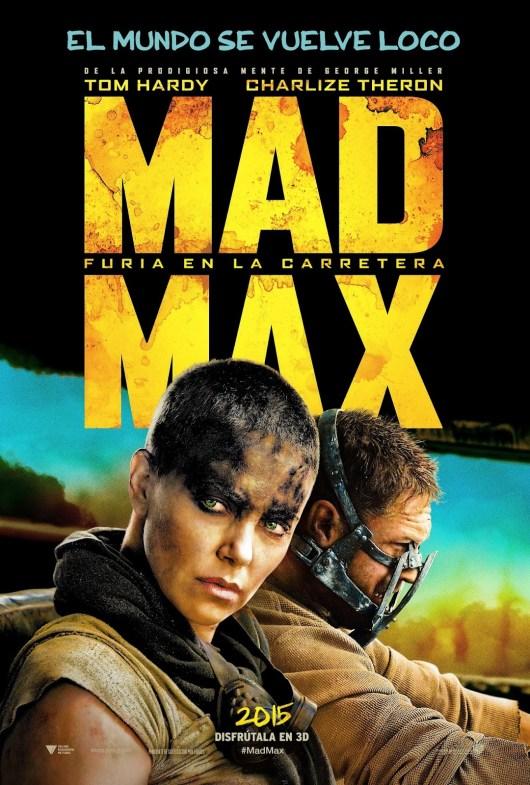 Tom Hardy y Charlize Theron son el objetivo en el nuevo tráiler y póster de 'Mad Max: Furia en la carretera'