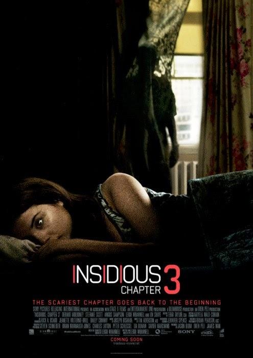 Dos nuevos pósters internacionales de 'Insidious: Capítulo 3'