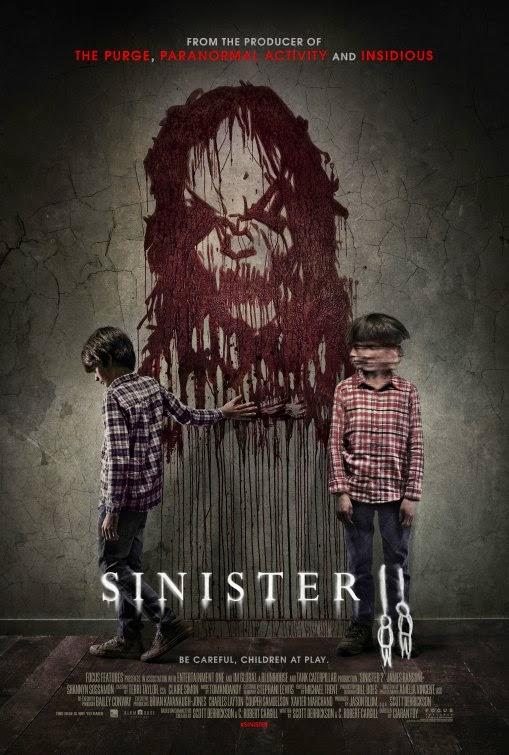 No podrás escapar del póster y el tráiler de 'Sinister 2'