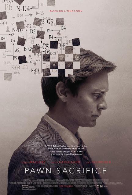 Toby Maguire es el genio del ajedrez Bobby Fischer en el primer tráiler y póster de 'Pawn Sacrifice'