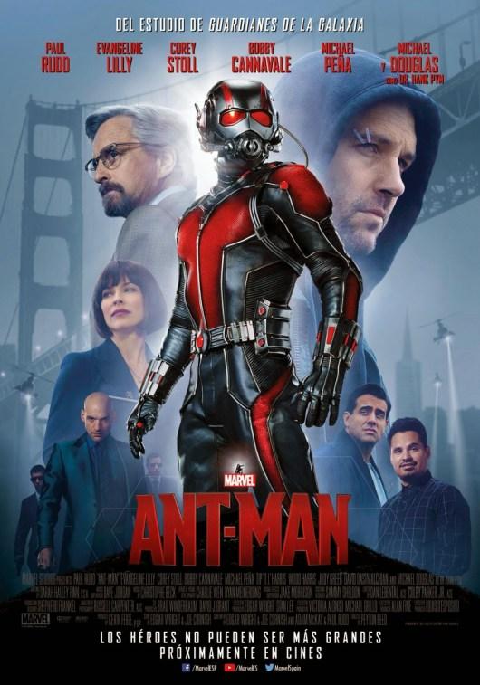 Nuevo póster de la película de Marvel 'Ant-Man'