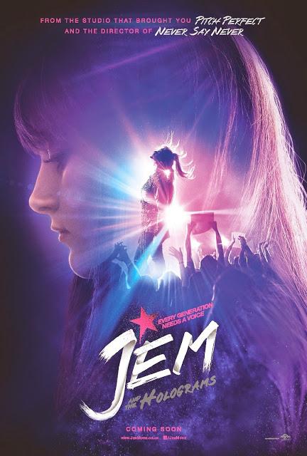 Nuevo póster y primer tráiler de 'Jem & the holograms'