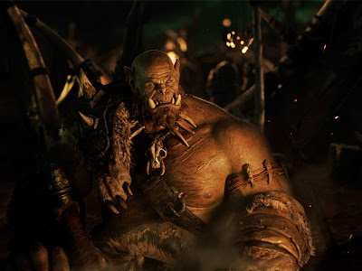 Primera imagen de Orgrim the Orc en 'Warcraft'