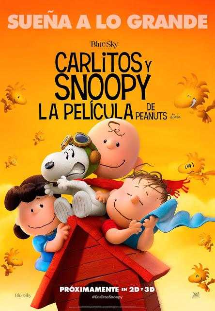 Nuevo póster de 'Carlitos y Snoopy: La Película de Peanuts'