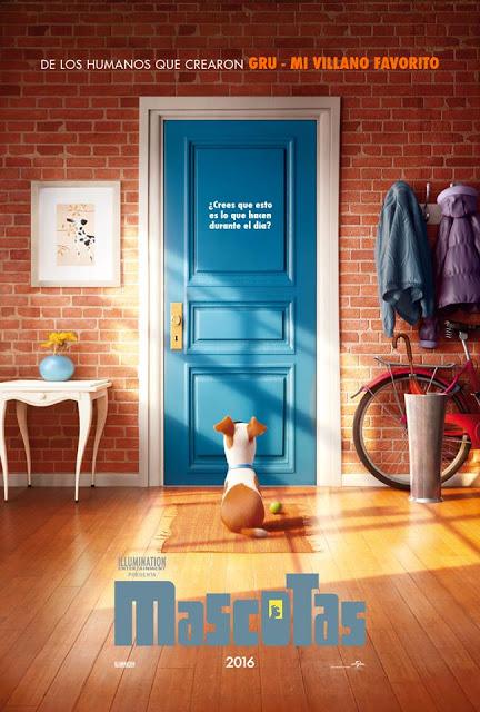 Primer tráiler y póster de la animada 'Mascotas'