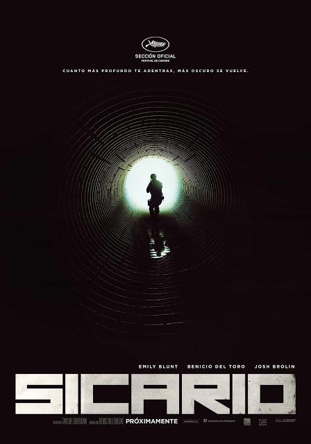 Póster y tráiler español de 'Sicario', lo nuevo de Denis Villeneuve con Emily Blunt y Benicio Del Toro