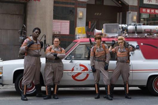 Las protagonistas de 'Ghostbusters' se visten de Cazafantasmas (Actualizado)