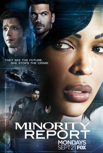 Nuevo póster de la serie 'Minority Report'
