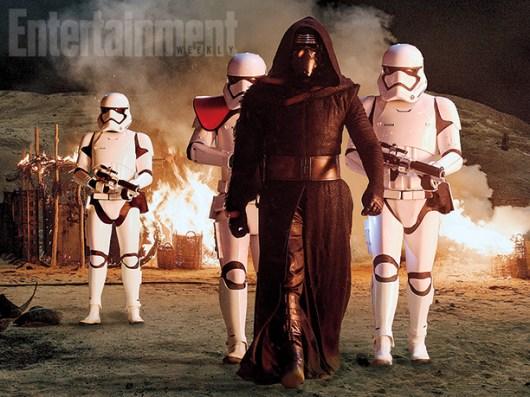 Remesa de nuevas fotos de 'Star Wars: El despertar de la fuerza' y revelados detalles de la película