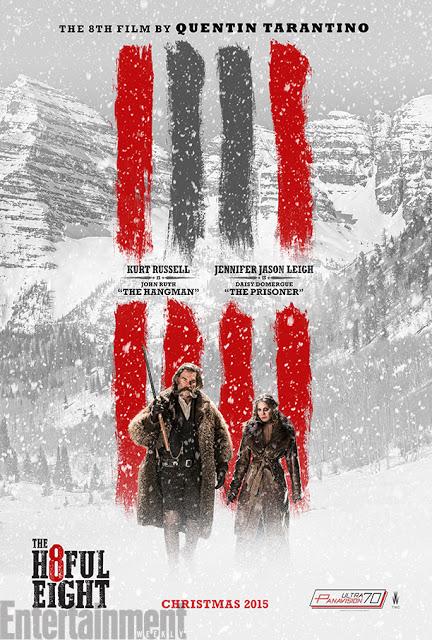 Nuevo póster del western 'The Hateful Eight'