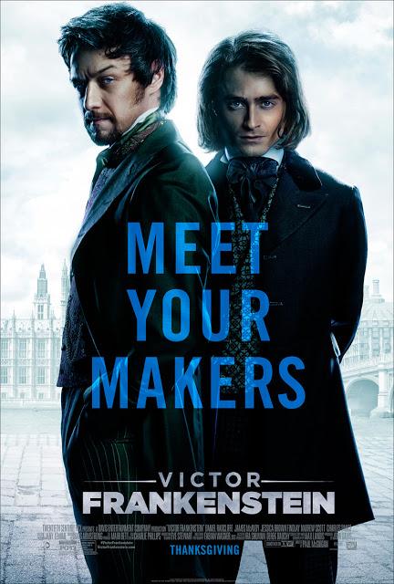 Primeros dos tráilers oficiales de 'Victor Frankenstein'