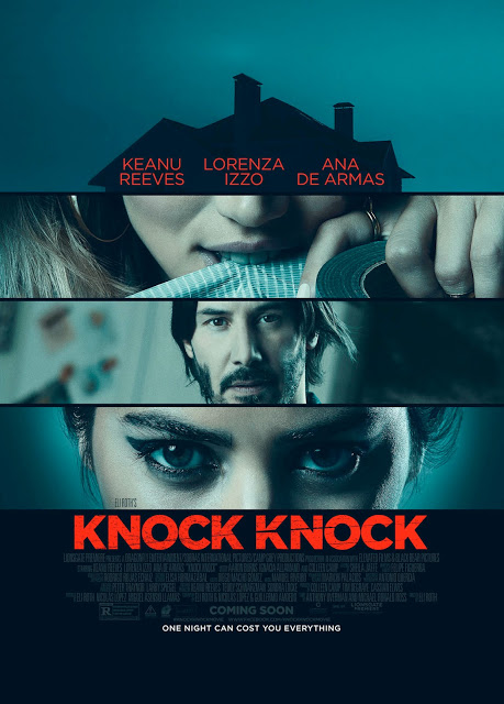 Nuevo tráiler y póster para 'Knock Knock', con Keanu Reeves, Lorenza Izzo y Ana de Armas