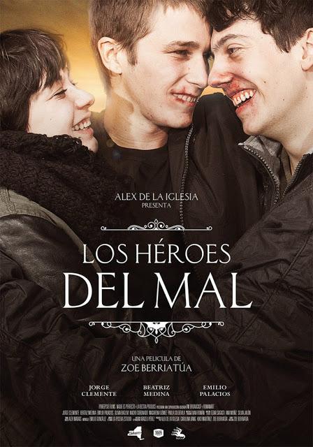 Tráiler y póster de 'Los héroes del mal' de Zoe Berriatúa