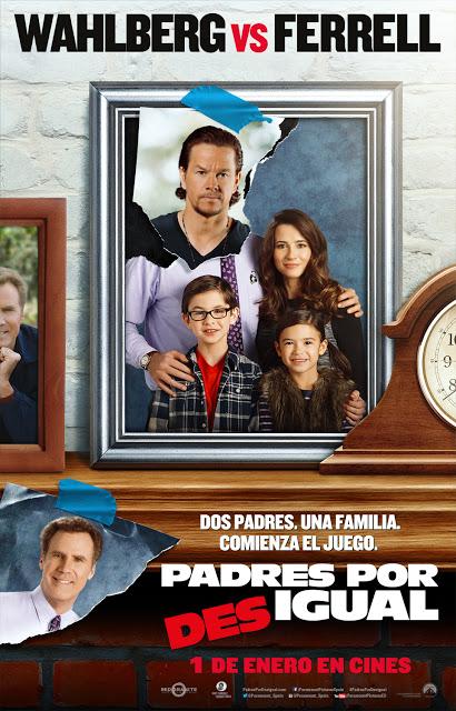 Póster y tráiler en castellano de 'Padres por desigual (Daddy's home)'