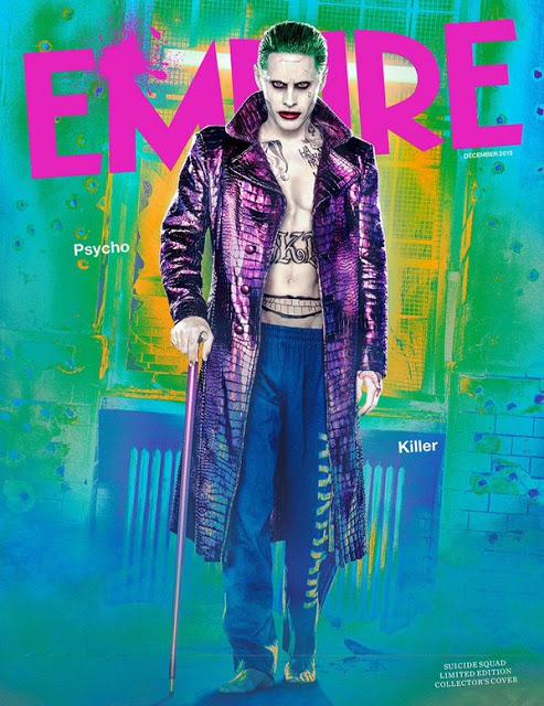El Joker y el resto de personajes en las nuevas imágenes de 'Suicide Squad'