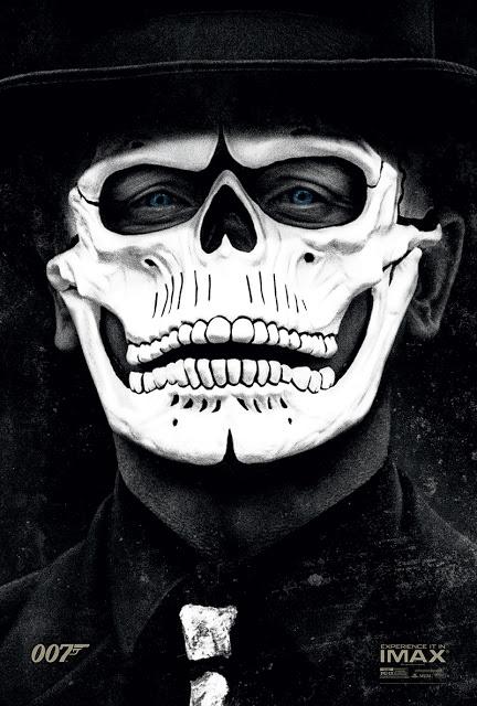 Un disfrazado Daniel Craig protagoniza el póster en IMAX de 'Spectre'