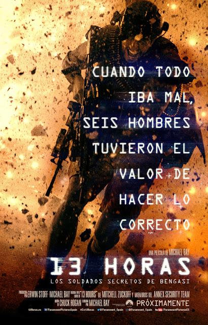 Teaser póster y tráiler español de '13 horas: Los soldados secretos de Bengasi'