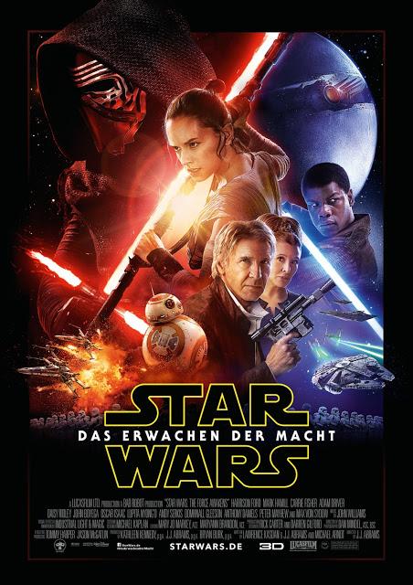 Este es el póster internacional de 'Star Wars: El despertar de la Fuerza'