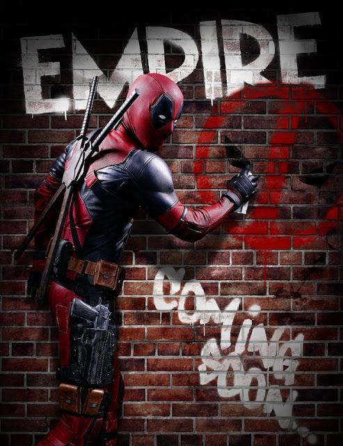 'Deadpool' es el protagonista de la nueva portada de Empire