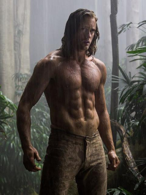 Primeras imágenes de Alexander Skarsgård en 'The legend of Tarzan'
