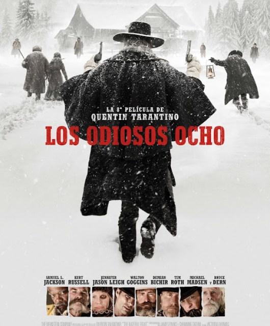 Póster español y fecha de estreno de 'Los odiosos ocho', lo último de Tarantino
