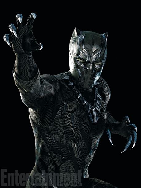 Primeras fotos de Pantera Negra en 'Capitán América: Civil War'