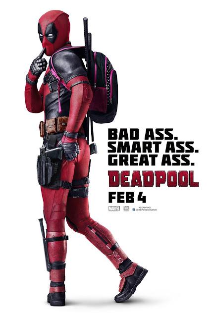 Nuevo póster internacional de 'Deadpool'