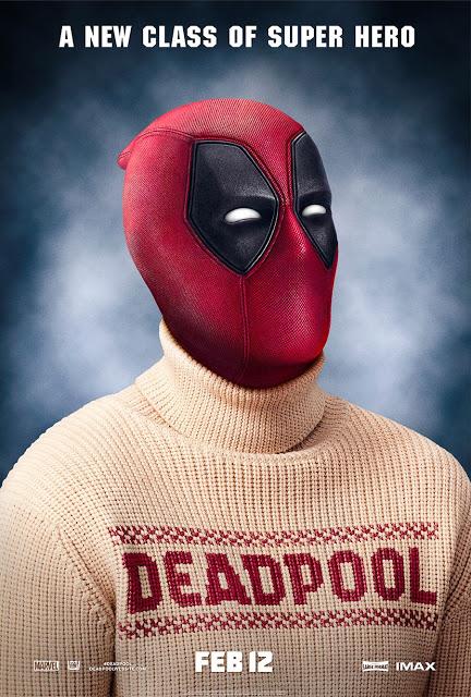 'Deadpool' celebra el día de los jerseys feos con un nuevo póster