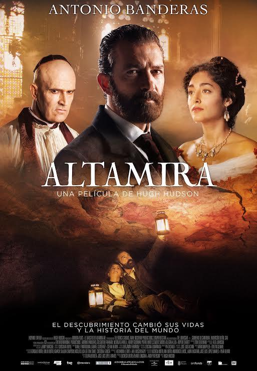 Concurso 'Altamira': Tenemos pósters firmados por Antonio Banderas para vosotros