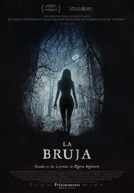 Póster oficial español de 'La Bruja' de Robert Eggers