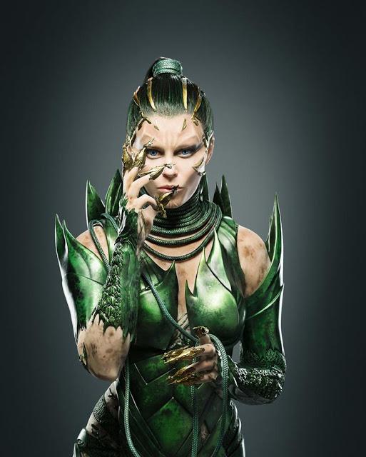 Primera imagen oficial de Elizabeth Banks como la villana de 'Power rangers'
