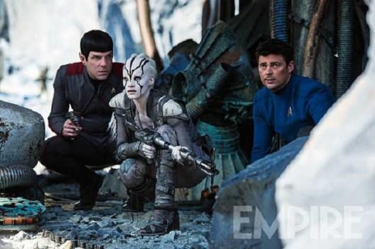 Primer foto de Sofia Boutella como Jaylah en 'Star Trek: Más allá'