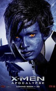 Gran remesa de pósters de personajes de 'X-Men: Apocalipsis'