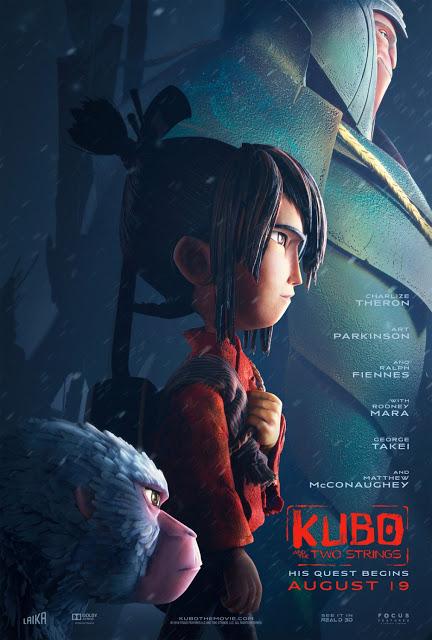 Nuevo póster internacional de 'Kubo y las dos cuerdas mágicas'