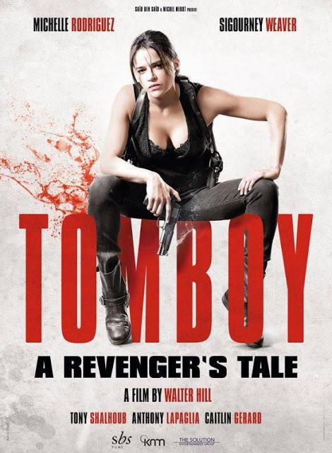 Nuevo póster de 'Tomboy, a Revenger's Tale' con Michelle Rodriguez y Sigourney Weaver